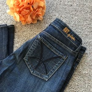 Kut from the Kloth Flare Leg Stretch Jeans Size 10